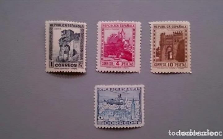 ESPAÑA - 1938 - II REPUBLICA - EDIFIL 770/772 - SERIE COMPLETA - MNH** - NUEVOS - LUJO. (Sellos - España - II República de 1.931 a 1.939 - Nuevos)