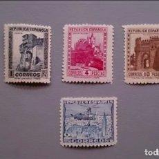 Sellos: ESPAÑA - 1938 - II REPUBLICA - EDIFIL 770/772 - SERIE COMPLETA - MNH** - NUEVOS - LUJO.. Lote 175616712