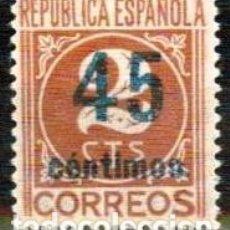 Sellos: ESPAÑA 1938 - EDIFIL 744. Lote 187145128