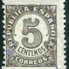 Sellos: ESPAÑA 1938 - EDIFIL 0745 PAPEL GRIS. Lote 175865404