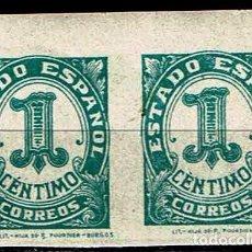 Sellos: ESPAÑA 1937 - EDIFIL 814 PAREJA. Lote 176003949