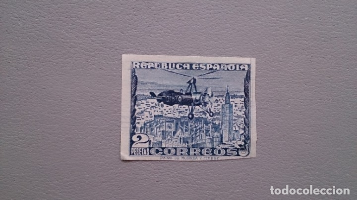 ESPAÑA -1938 - II REPUBLICA - EDIFIL 769S - SIN DENTAR - MNG - NUEVO - VALOR CATALOGO 60€. (Sellos - España - II República de 1.931 a 1.939 - Nuevos)