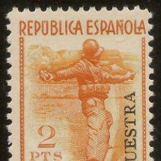 Sellos: ESPAÑA EDIFIL ESPECIALIZADO 798M** MNH MUESTRA MILICIAS 1938 NL1598. Lote 177616973