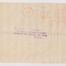 Francobolli: SOBRE. MADRID. 1934. FRANQUEO MECÁNICO. EB. A CANGAS DE ONÍS, ASTURIAS. . Lote 178737861