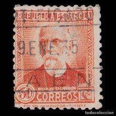 Sellos: SELLOS. ESPAÑA. II REPÚBLICA. 1932. PERSONAJES Y MONUMENTOS.50C. USADO. EDIFIL. 671. Lote 178931448