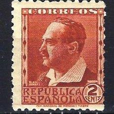 Sellos: ESPAÑA 1932 - PERSONAJES VICENTE BLASCO IBÁÑEZ -2 CÉNTIMOS - EDIFIL 662 - MNH** NUEVO SIN FIJASELLOS. Lote 179548001
