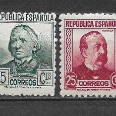 Sellos: ESPAÑA 1933-1935 * - 2/38. Lote 180191088