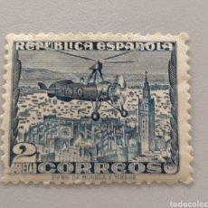 Sellos: EDIFIL 769 - REPUBLICA ESPAÑOLA - 2 PESETAS - AUTOGIRO. Lote 180397485