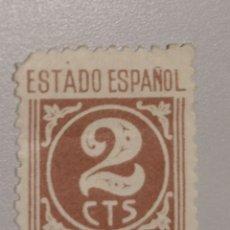 Sellos: EDIFIL 815 - 2 CTS - ESTADO ESPÑOL - 1937. Lote 180405652