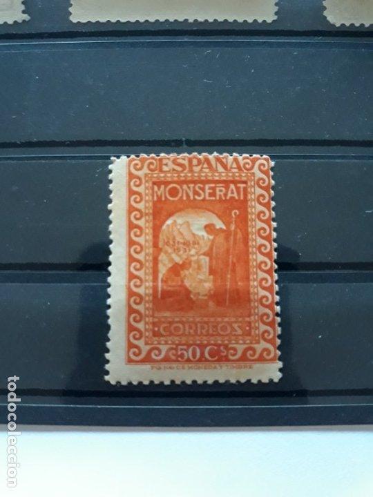 EDIFIL 645**. ESPAÑA 1931. MONTSERRAT. 50 CTS NARANJA (Sellos - España - II República de 1.931 a 1.939 - Nuevos)