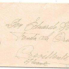 Sellos: II REPUBLICA. EDIFIL Nº 742. DE VALENCIA A CREVILLENTE - ALICANTE 1938. Lote 181075616
