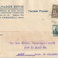 Sellos: TARJETA POSTAL PRIVADA (1935). Lote 182002550