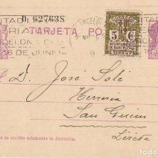 Sellos: TARJETA POSTAL DE LA 2ª REPÚBLICA (1935). Lote 182016153