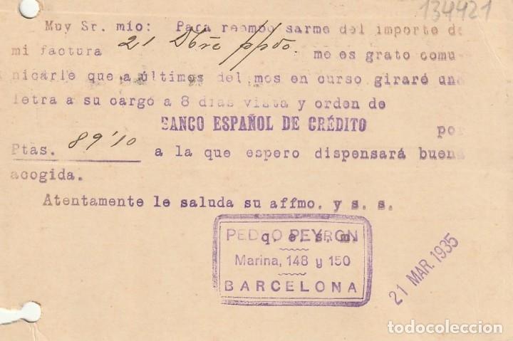 Sellos: TARJETA POSTAL DE LA 2ª REPÚBLICA (1935) - Foto 2 - 182016153