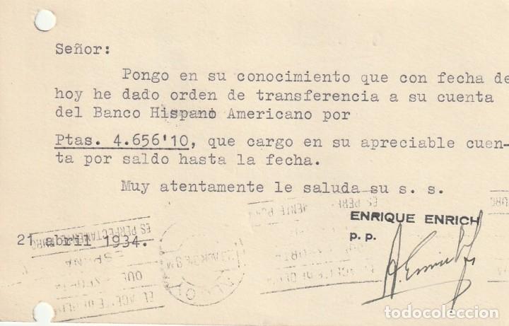 Sellos: TARJETA POSTAL DE LA 2ª REPÚBLICA (1935) - Foto 2 - 182016218