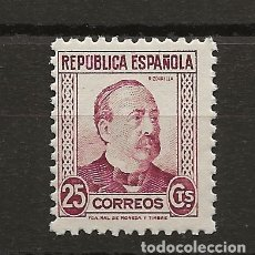 Sellos: R35.V1-G-SUB / 1933-1935, PERSONAJES, EDF. 685. Lote 182520202