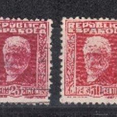 Sellos: 1931 EDIFIL 655/61 USADOS. PERSONAJES (1019). Lote 182646865