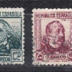 Sellos: 1933 EDIFIL 681/88 NUEVOS Y USADOS. PERSONAJES (1019). Lote 182736120