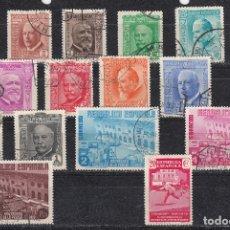 Sellos: 1936 EDIFIL 695/710 USADOS. ANIVERSARIO PRENSA (1019). Lote 182736273
