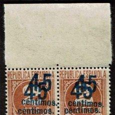 Sellos: ESPAÑA 1938 - EDIFIL 0744NNDB4. Lote 182870551