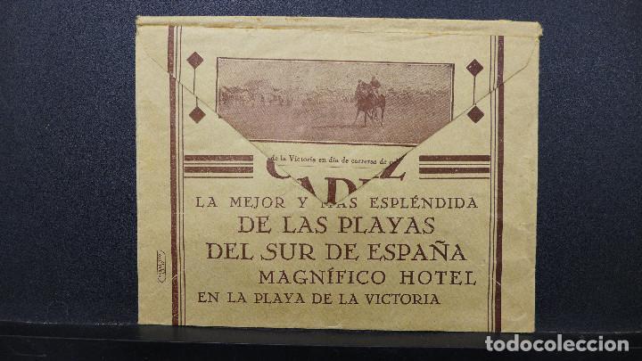 Sellos: CARTA DE CADIZ CON MEMBRETE GALLARDO Y ALBA AL DORSO PUBLICIDAD DE LAS PLAYAS DE CADIZ - Foto 3 - 183524898