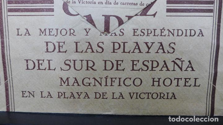Sellos: CARTA DE CADIZ CON MEMBRETE GALLARDO Y ALBA AL DORSO PUBLICIDAD DE LAS PLAYAS DE CADIZ - Foto 4 - 183524898
