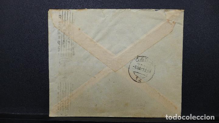 Sellos: CARTA DE VALENCIA A CADIZ CON SELLO DE 30 CTS AÑO 1933 CON MEMBRETE Y CARTA DE JUSTO BURILLO - Foto 4 - 183527417