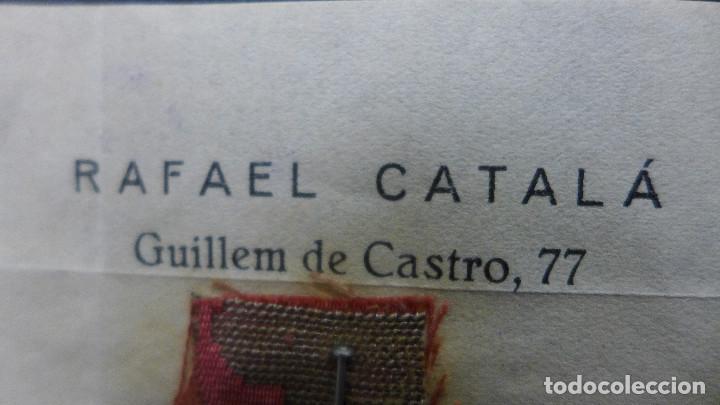 Sellos: SOBRE VALENCIA A CADIZ AÑO 1933 MEMBRETE RAFAEL CATALA MATASELLOS VALENCIA PLAYA MEDITERRANEA IDEAL - Foto 7 - 183585011