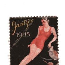Sellos: S15 VIÑETA PUBLICITARIA JANTZEN 1935 NUEVA. Lote 183813711