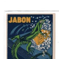 Sellos: S16 VIÑETA PROPAGANDA JABON LAGARTO – SAN SEBASTIAN 1920'S. Lote 183813843