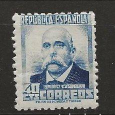 Sellos: R35/ ESPAÑA 1932, EDIFIL 670 MNH**, PERSONAJES Y MONUMENTOS. Lote 184322906