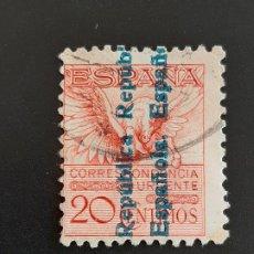 Sellos: EDIFIL 603 , PEGASO 1931. Lote 184692053