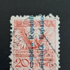 Sellos: EDIFIL 603 , PEGASO 1931. Lote 184692187