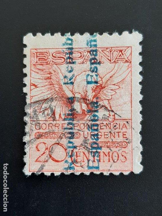EDIFIL 603 , PEGASO 1931 (Sellos - España - II República de 1.931 a 1.939 - Usados)