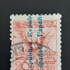 Sellos: EDIFIL 603 , PEGASO 1931. Lote 184692250