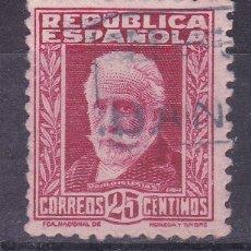 Sellos: TT14-PABLO IGLESIAS REPUBLICA MATASELLOS CARTERÍA BAÑON TERUEL . Lote 186116230
