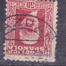 Sellos: TT16- REPÚBLICA PABLO IGLESIAS USADO ZAZUAR BURGOS . Lote 186126945