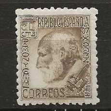 Sellos: R37/ ESPAÑA 1934, EDIFIL 680 MH*, SANTIAGO RAMON Y CAJAL. Lote 186168710