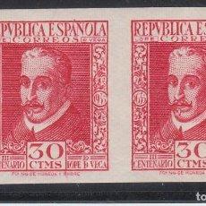 Sellos: ESPAÑA,1935 EDIFIL Nº 691S /**/, SIN DENTAR. SIN FIJASELLOS. Lote 186273112