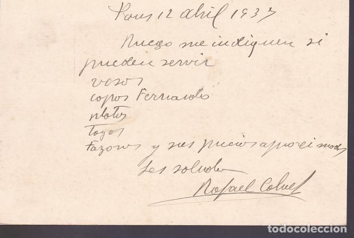 Sellos: F6-59- Entero Postal Rafael Calvet PONS Lérida - Foto 2 - 186472791