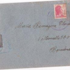 Timbres: F6-19- GUERRA CIVIL CARTA EJÉRCITO DEL ESTE . ARTILLERÍA GRUPO CAÑONES 7.62 1938. CON TEXTO. Lote 186785006