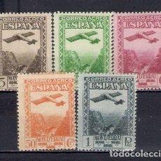 Sellos: EDIFIL 650 654 CENTENARIO FUNDACIÓN MONASTERIO MONTSERRAT , CORREO AÉREO, NUEVOS SIN FIJASELLOS MNH. Lote 189123108