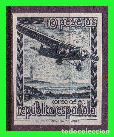 1939 AVIÓN EN VUELO, EDIFIL Nº NE38S * (Sellos - España - II República de 1.931 a 1.939 - Nuevos)