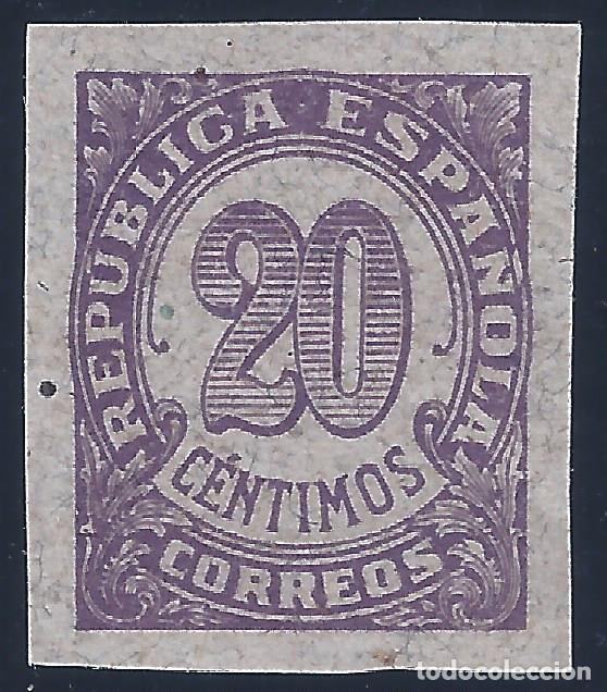 EDIFIL 748S CIFRAS 1938. SIN DENTAR. VALOR CATÁLOGO: 24 €. (Sellos - España - II República de 1.931 a 1.939 - Nuevos)