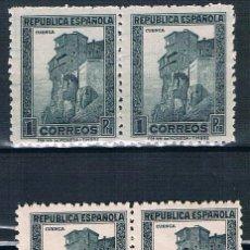 Sellos: ESPAÑA 1938 EDIFIL 770 MNH** 2 SELLOS DE 2 TIPOS DE COLOR VER DESCRIPCIÓN. Lote 192012157