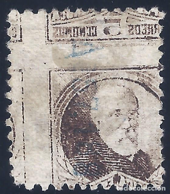 EDIFIL 655 PERSONAJES (FRANCISCO PI Y MARGALL) 1931-1932 (VARIEDAD 655IC...CALCADO AL DORSO). MH * (Sellos - España - II República de 1.931 a 1.939 - Nuevos)