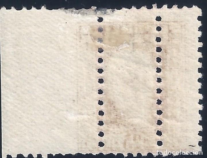 Sellos: EDIFIL 658 PABLO IGLESIAS. 1932 (VARIEDAD...TRIPLE DENTADO). NO CATALOGADO. LUJO. MH * - Foto 2 - 192285775