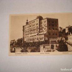 Sellos: POSTAL ALHAMBRA PALACE SELLO NICOLAS SALMERON. Lote 192719388