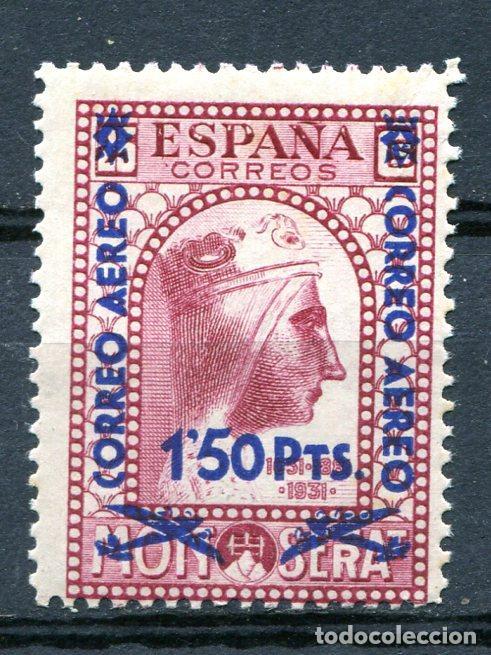 EDIFIL 785. MONTSERRAT SOBRECARGADO. NUEVO SIN FIJASELLOS. (Sellos - España - II República de 1.931 a 1.939 - Nuevos)