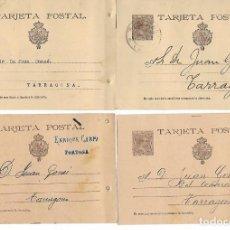 Sellos: LOTE DE 4 ENTEROS POSTALES - VER FOTOS. Lote 194535107